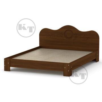 Ліжко-150 МДФ Горіх