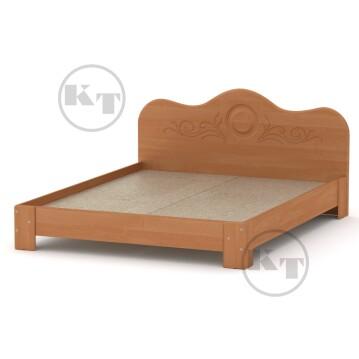 Ліжко-170 МДФ Вільха