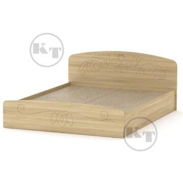 """Ліжко """"Ніжність""""-140 МДФ Дуб сонома"""
