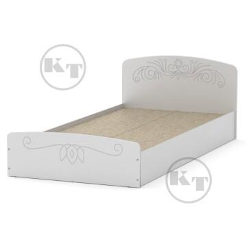 """Ліжко """"Ніжність""""-90 МДФ Білий"""