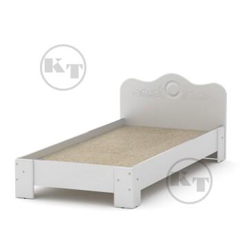 Ліжко-100 МДФ Білий