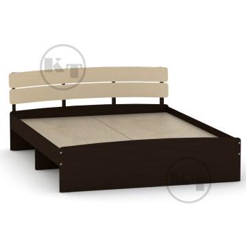 """Ліжко """"Модерн""""-140 Венге комбі"""