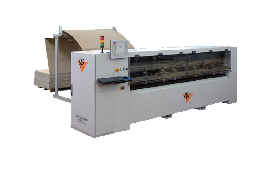Верстат для виготовлення упаковки LCR QUARK 2800